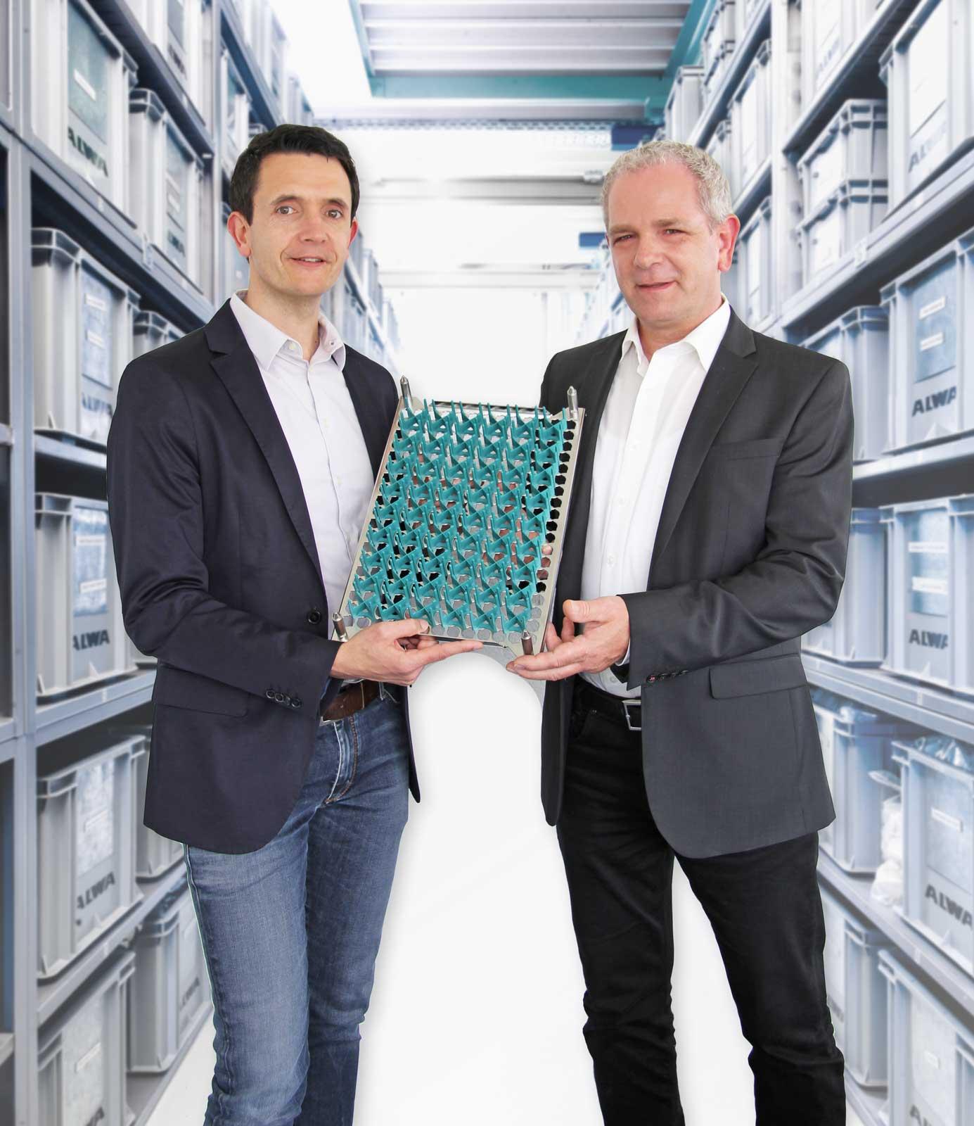 ALWA smartPINS Werkstückträger Teilesystem