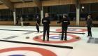 ALWA Mitarbeiter Curling Mannschaft